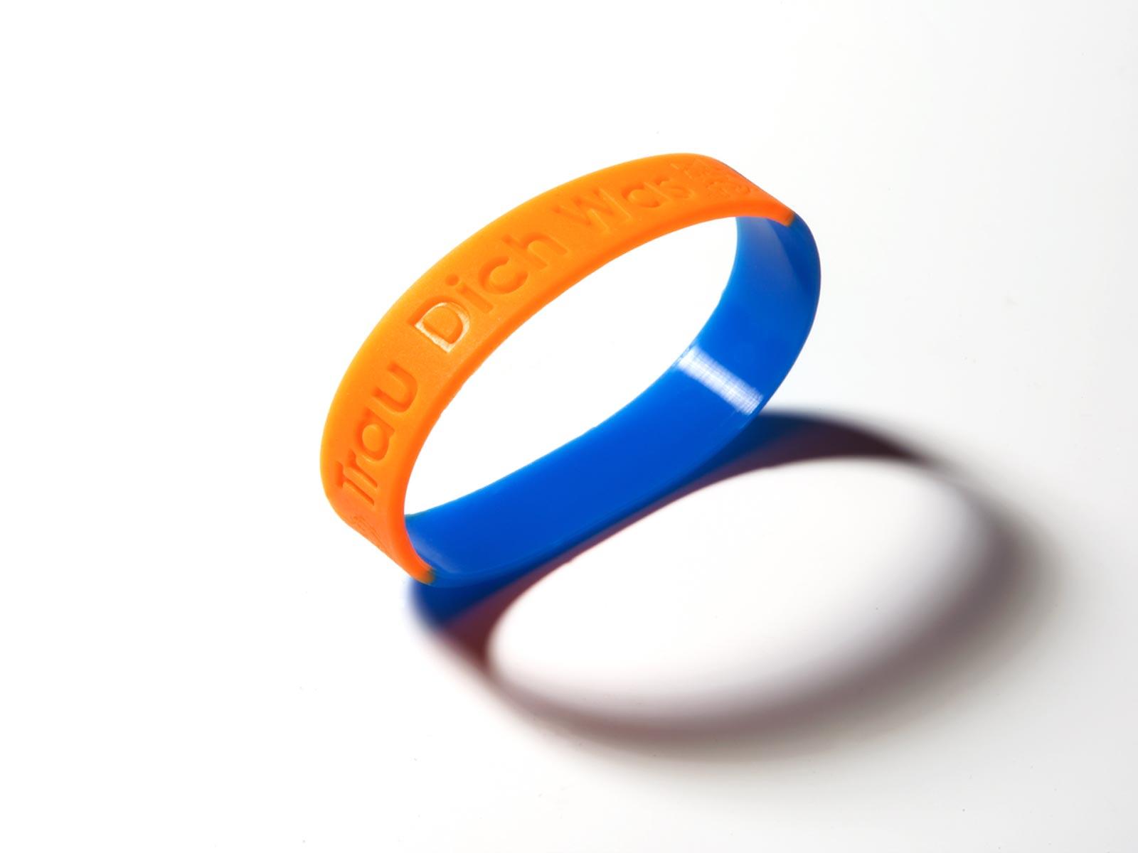 Mitbringsel: Trau Dich Was Armband