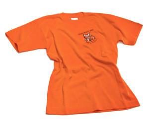 Mitbringsel: Trau Dich Was TShirt Orange